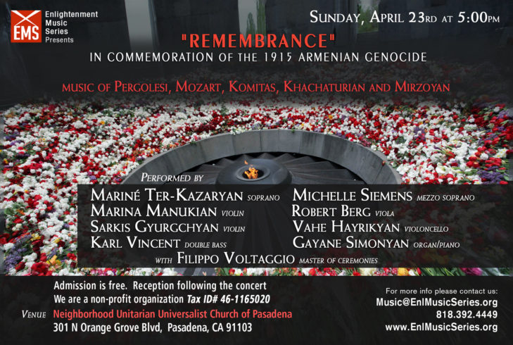 Memorial day of the victims of the Armenian Genocide in 1915, Tsitsernakaberd Memorial Complex